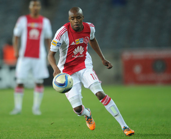 Bantu Mzawkali of Ajax Cape Town during the MTN8 Quarter Final match between Orlando Pirates and Ajax Cape Town on 04 August 2015 at Orlando Stadium