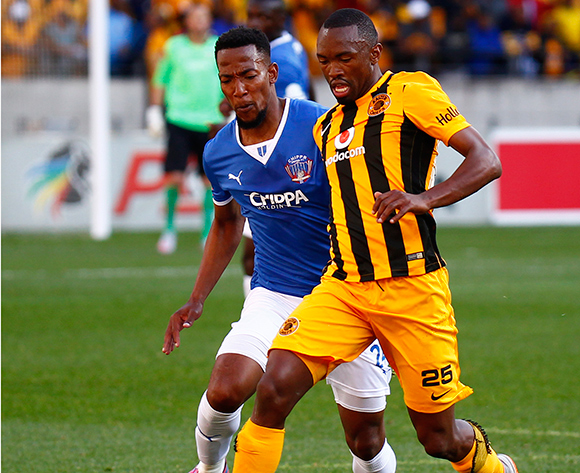 Bernard Parker of Kaizer Chiefs during the Absa Premiership football Match between Chippa United and Kaizer Chiefs at the Nelson Mandela Bay Stadium on 9 August 2015 © Michael Sheehan/BackpagePix