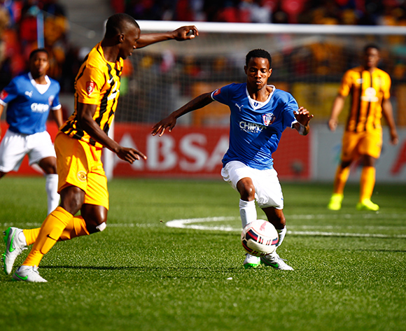 Joseph Malongoane of Chippa United during the Absa Premiership football Match between Chippa United and Kaizer Chiefs at the Nelson Mandela Bay Stadium on 9 August 2015 © Michael Sheehan/BackpagePix