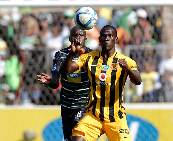Siphelele Mthembu from Kaizer Chiefs FC during the Absa Premiership match between Bloemfontein Celtic FC and Kaizer Chiefs FC at the Free State Stadium  on 16 August 2015.