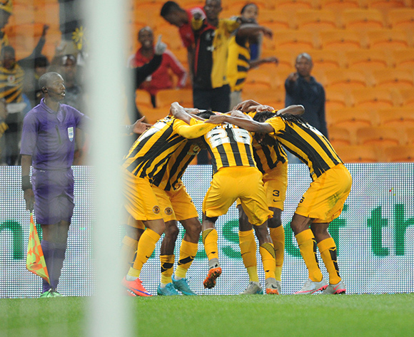 George Lebese of Kaizer Chiefs (17) celebrates a goal   during the Absa Premiership match between Kaizer Chiefs and Free State Stars  on 22 August 2015 at FNB Stadium Pic Sydney Mahlangu/ BackpagePix
