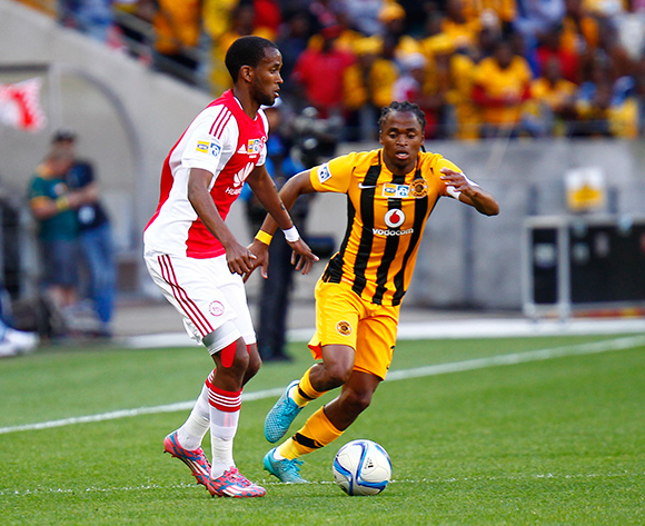 Mosa Lebusa of Ajax Cape Town during the 2015 MTN 8 Final football match between Ajax Cape Town and Kaizer Chiefs at Nelson Mandela Bay Stadium, Port Elizabeth, 19 September 2015  ©Michael Sheehan/BackpagePix