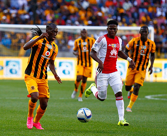Reneilwe Letsholonyane of Kaizer Chiefs during the 2015 MTN 8 Final football match between Ajax Cape Town and Kaizer Chiefs at Nelson Mandela Bay Stadium, Port Elizabeth, 19 September 2015  ©Michael Sheehan/BackpagePix