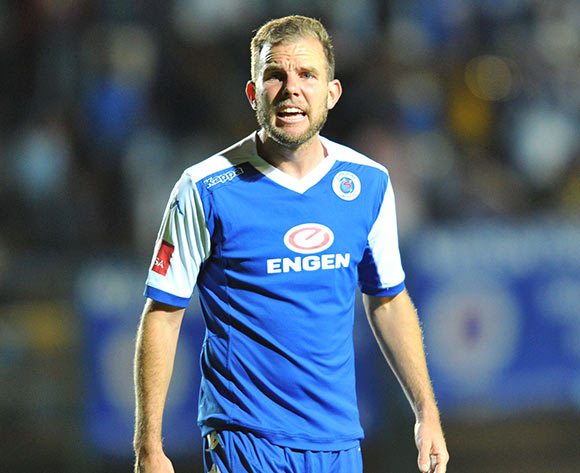 Jeremy Brockie of Supersport United during the Absa Premiership match between Bidvest Wits and Supersport United at the Bidvest Stadium in Johannesburg, South Africa on September 22, 2015 ©Samuel Shivambu/BackpagePix