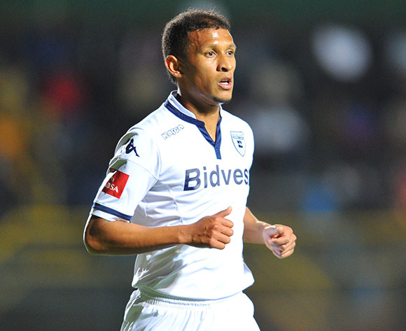 Nazeer Allie of Bidvest Wits during the Absa Premiership match between Bidvest Wits and Supersport United at the Bidvest Stadium in Johannesburg, South Africa on September 22, 2015 ©Samuel Shivambu/BackpagePix