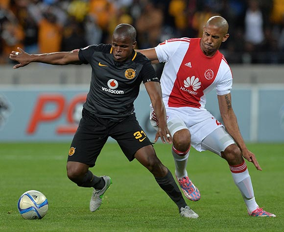 Willard Katsande of Kaizer Chiefs evades challenge from Nathan Paulse of Ajax Cape Town during the Absa Premiership 2015/16 football match between Ajax Cape Town and Kaizer Chiefs at Cape Town Stadium, Cape Town, 26 September 2015  ©Chris Ricco/BackpagePix