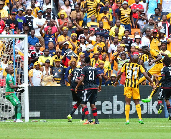 Erick Mathoho of Kaizer Chiefs scores goal during the 2015/16 Absa Premiership football match between Kaizer Chiefs and Orlando Pirates at Soccer City in Johannesburg, South Africa on 31 October 2015 ©Gavin Barker/BackpagePix