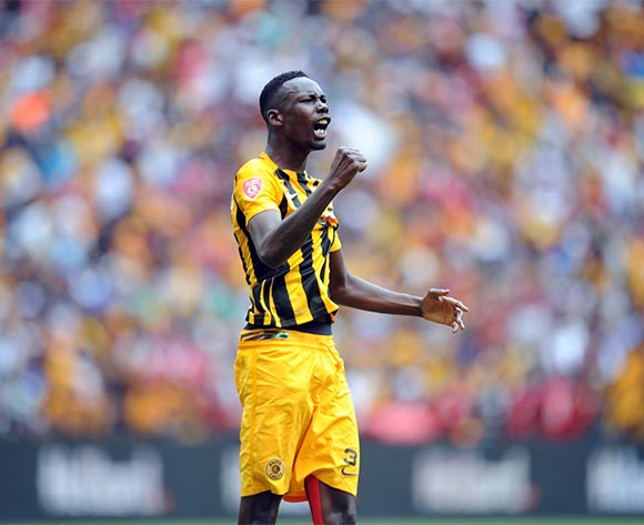 Erick Mathoho of Kaizer Chiefs celebrates a goal during the Absa Premiership match between Kaizer Chiefs and Orlando Pirates  on 31 October 2015 at FNB Stadium Pic Sydney Mahlangu/ BackpagePix