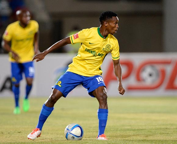 Themba Zwane of Mamelodi Sundowns during the Absa Premiership match between Bloemfontein Celtic FC and Mamelodi Sundowns at the Seisa Ramabodu Stadium  on 21 October 2015. ©Gerhard Steenkamp/BackpagePix