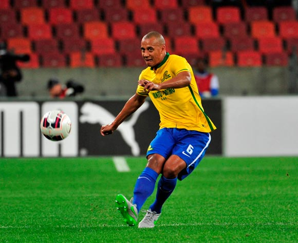 Wayne Arendse of Mamelodi Sundowns during the Absa Premiership 2015/16 game between Chippa United and Mamelodi Sundowns at Nelson Mandela Bay Stadium, Port Elizabeth on 4 November 2015 ©Deryck Foster/BackpagePix