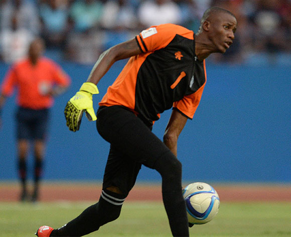 Botswana goal keepers Kabelo Dambe during the FIFA World cup 2018 qualifying match between Botswana and Mali at the Francistown Stadium in Francistown in Botswana on 14 November 2015. Monirul Bhuiyan/Backpage pix