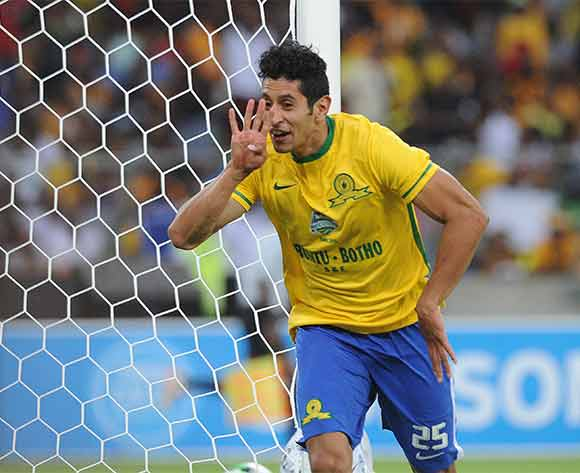 Leonardo Castro of Mamelodi Sundowns