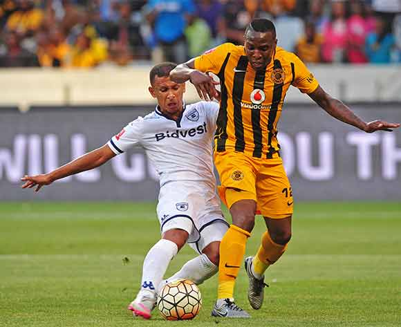 Nazeer Allie of Bidvest Wits makes a last ditch tackle on George Maluleka of Kaizer Chiefs during Absa Premiership 2015/16 game between Kaizer Chiefs and Bidvest Wits at Cape Town Stadium on 19 December 2015 ©Ryan Wilkisky/BackpagePix