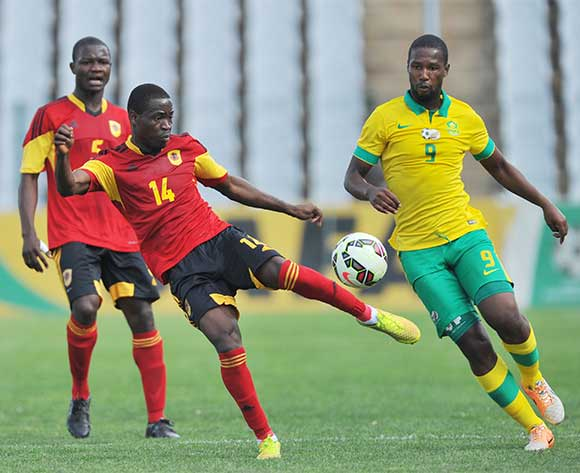 Angola go down in CHAN warm-up