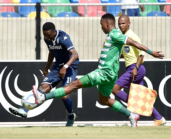 Elias Pelembe from Bidvest Wits FC during the Absa Premiership match between Bloemfontein Celtic FC and Bidvest Wits FC at Dr Molemela Stadium on 31 January 2016.