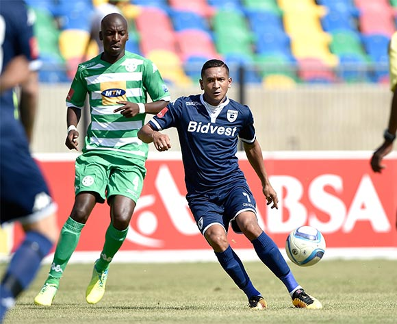 Daine Klate from Bidvest Wits FC during the Absa Premiership match between Bloemfontein Celtic FC and Bidvest Wits FC at Dr Molemela Stadium on 31 January 2016.