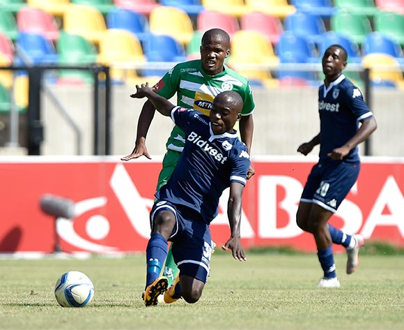 Ben Motshwari from Bidvest Wits FC during the Absa Premiership match between Bloemfontein Celtic FC and Bidvest Wits FC at Dr Molemela Stadium on 31 January 2016. ©Gerhard Steenkamp/Backpage Media