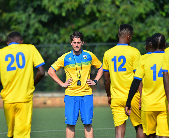 Johnathan McKinstry, coach of Rwanda during the Rwanda training session for the 2016 CHAN Rwanda in Kigali, Rwanda on 15 January 2016 ©Gavin Barker/BackpagePix