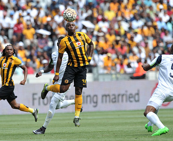 George Maluleka of Kaizer Chiefs controls the ball during the 2015 Absa Premiership match    ©Luigi Bennett / BackpagePix
