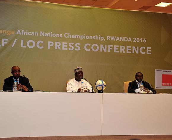 General view during the 2016 CHAN Rwanda CAF LOC Press Conference at the Serena Hotel in Kigali, Rwanda on 06 February 2016 ©Ryan Wilkisky/BackpagePix