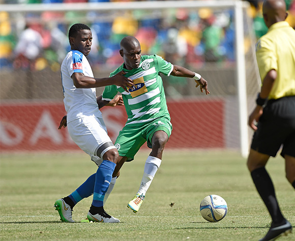 Lerato Lamola from Bloemfontein Celtic FC during the Absa Premiership match between Bloemfontein Celtic FC and Chippa United at Dr Molemela Stadium on 14 February 2016. ©Gerhard Steenkamp/Backpage Media
