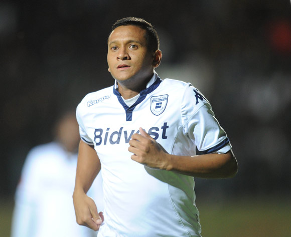 Daine Klate of Bidvest Wits   during the Absa Premiership match between Bidvest Wits and University of Pretoria on 19 February 2016 at Bidvest Stadium Pic Sydney Mahlangu/ BackpagePix