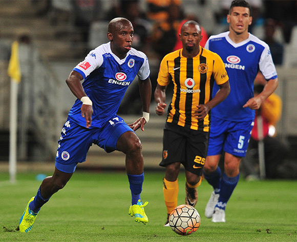 Mark Mayambela of Supersport United during the Absa Premiership 2015/16 football match between Kaizer Chiefs and Supersport United at Cape Town Stadium, Cape Town on 20 February 2016 ©Chris Ricco/BackpagePix
