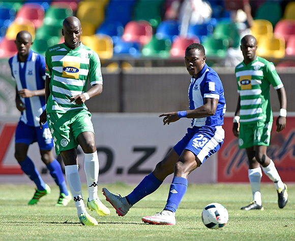 Philani Zulu from Maritzburg United during the Absa Premiership match between Bloemfontein Celtic FC and Maritzburg United at Dr Molemela Stadium on 21 February 2016.