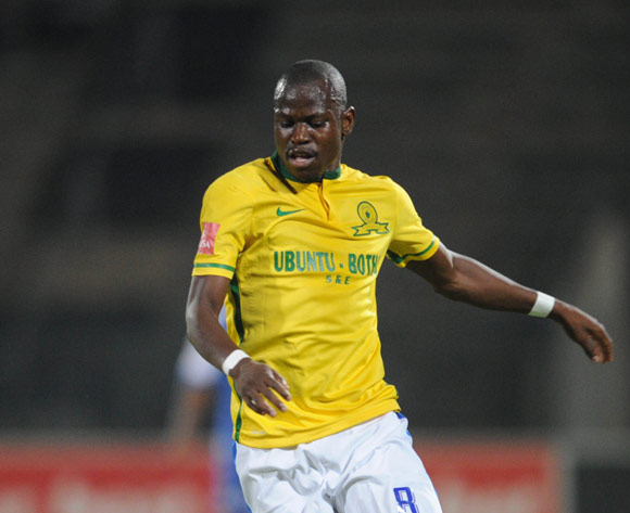 Hlompho Kekana of Mamelodi Sundowns during the Absa Premiership match Supersport United and Mamelodi Sundowns on 01 March 2016 at Lucas Moripe Stadium Pic Sydney Mahlangu/ BackpagePix