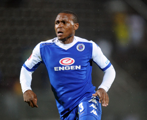 Thuso Phala of Supersport United  during the Absa Premiership match Supersport United and Mamelodi Sundowns on 01 March 2016 at Lucas Moripe Stadium Pic Sydney Mahlangu/ BackpagePix