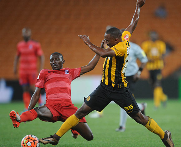 Sibusiso Mdamba of Jomo Cosmos tackles Bernard Parker of Kaizer Chiefs during the  Premiership match between Kaizer Chiefs and Jomo Cosmos on 15 March 2016 at FNB Stadium Pic Sydney Mahlangu/ BackpagePix