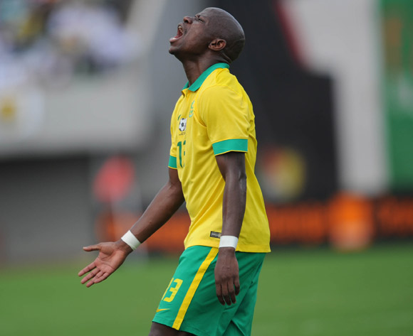 Hlompho Kekana of South Africa during the AFCON Qualifier match  between Cameroon and South Africa on 26 March 2016 at Limbe Omni Sport Stadium  Pic Sydney Mahlangu/ BackpagePix