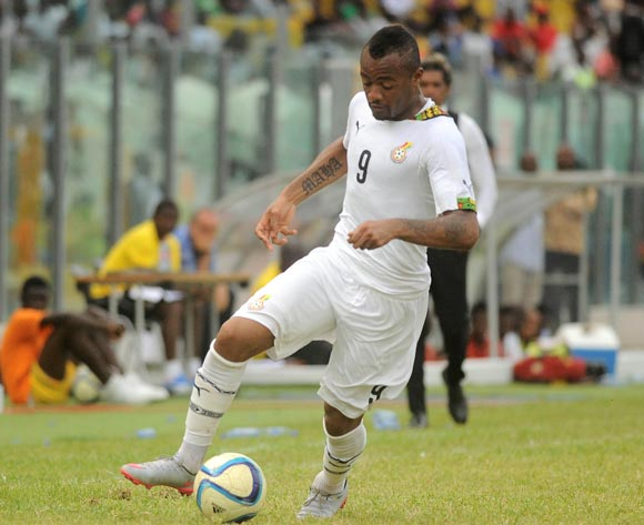 Jordan Ayew of Ghana during the 2017 African Cup of Nations Qualifiers ©Christian Thompson/BackpagePix