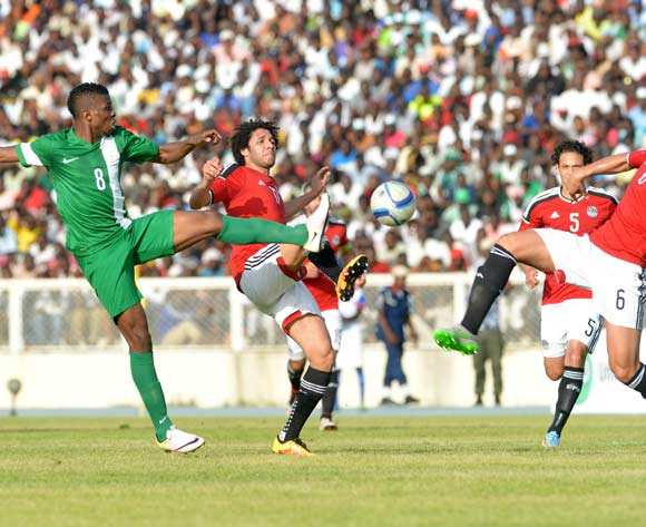 Nigeria vs Egypt in Kaduna on Friday. Both teams clash again in Alexandria on Tuesday evening