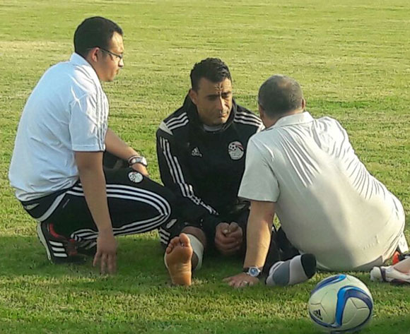 Egypt suffer El Hadary injury blow