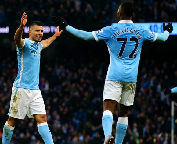 Iheanacho man of the match as Manchester City drub Stoke