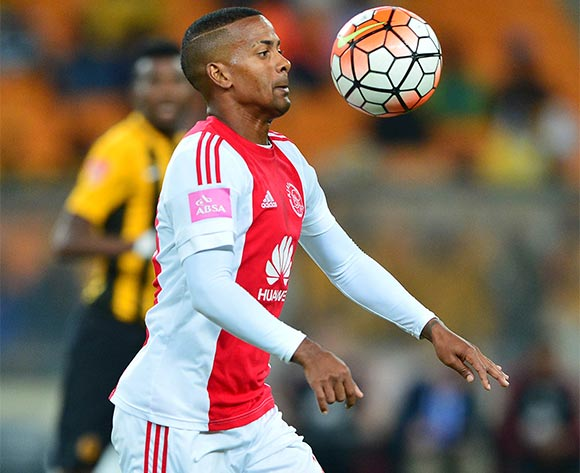 Erwin Isaacs of Ajax Cape Town during the 2015/16 Absa Premiership football match between Kaizer Chiefs and Ajax Cape Town at Soccer City, Johannesburg on 16 April 2016 ©Gavin Barker/BackpagePix