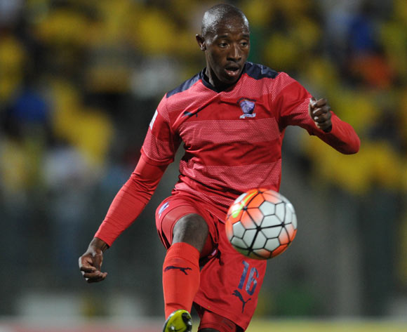 Sibusiso Vilakazi of Jomo Cosmos during the Absa Premiership match between Mamelodi Sundowns and Jomo Cosmos on 16 April 2016 at Lucas Moripe Stadium Pic Sydney Mahlangu/ BackpagePix