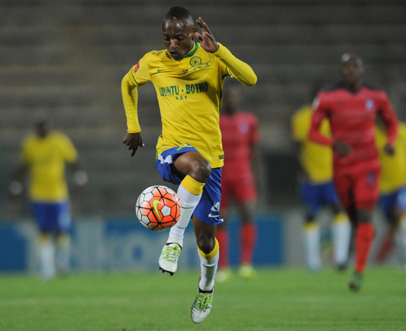 Khama Billiat of Mamelodi Sundowns Pic Sydney Mahlangu/ BackpagePix