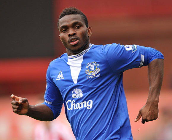 Joseph Yobo honoured on Everton return