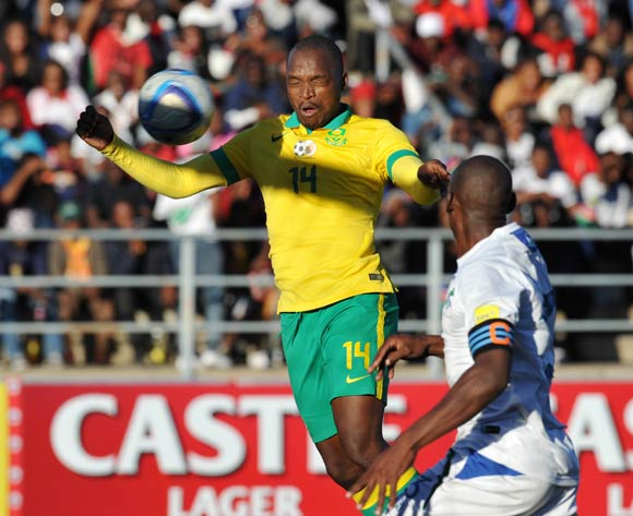 Gift Motupa South Africa scores his goal during the 2016 Cosafa Cup Quarterfinals match between South Africa and Lesotho at Sam Nujoma Stadium in Windhoek Namibia on 18 June, 2016 ©Muzi Ntombela/BackpagePix
