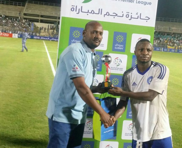 Man of the Match award in Sudan excites Shobowale