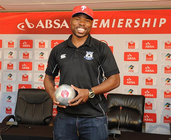 Highlands Park sign Collins Mbesuma