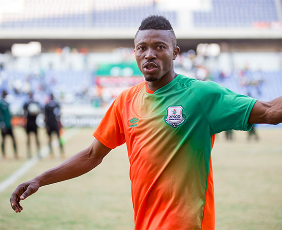Adama Bahn of Zesco United during the CAF Champions League football match between Zesco and Asec Abidjan at the Levy Mwanawasa Stadium in Ndola, Zambia on 16 July 2016 ©BackpagePix