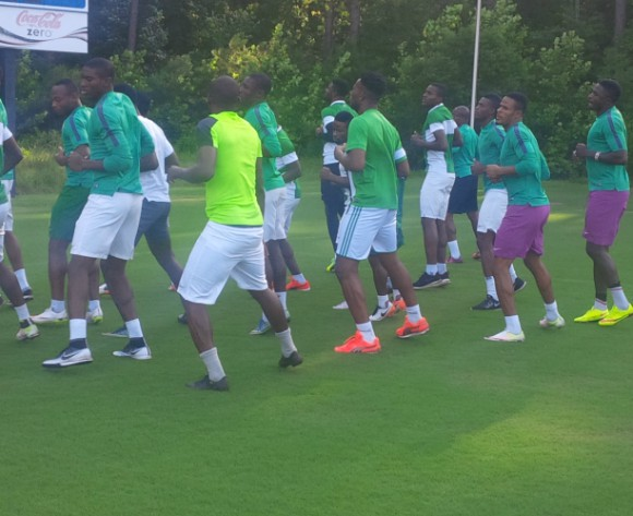 Nigeria Olympic team's US warm-up game rained off