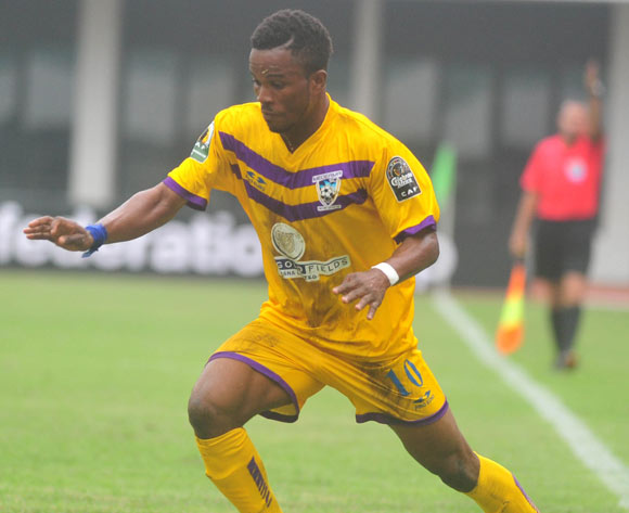 Enock Atia Agyei of Medeama SC © Christian Thompson/BackpagePix