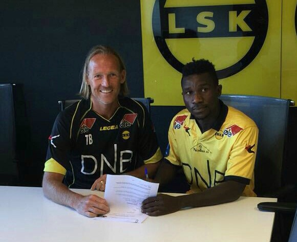 BREAKING: Ifeanyi Matthew signs for Norwegian club Lillestrom