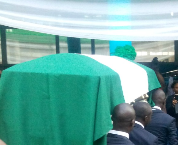 Eagles stars pay last respect to Keshi
