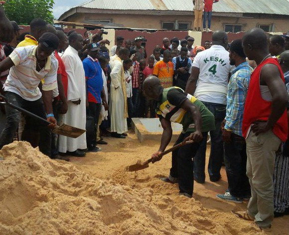 Nigeria legend Keshi laid to rest not as a hero