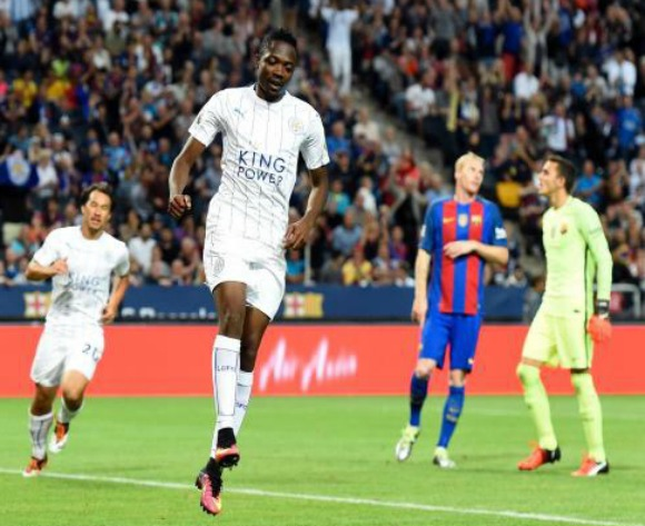 Ahmed Musa promises more Leicester goals after Barca brace
